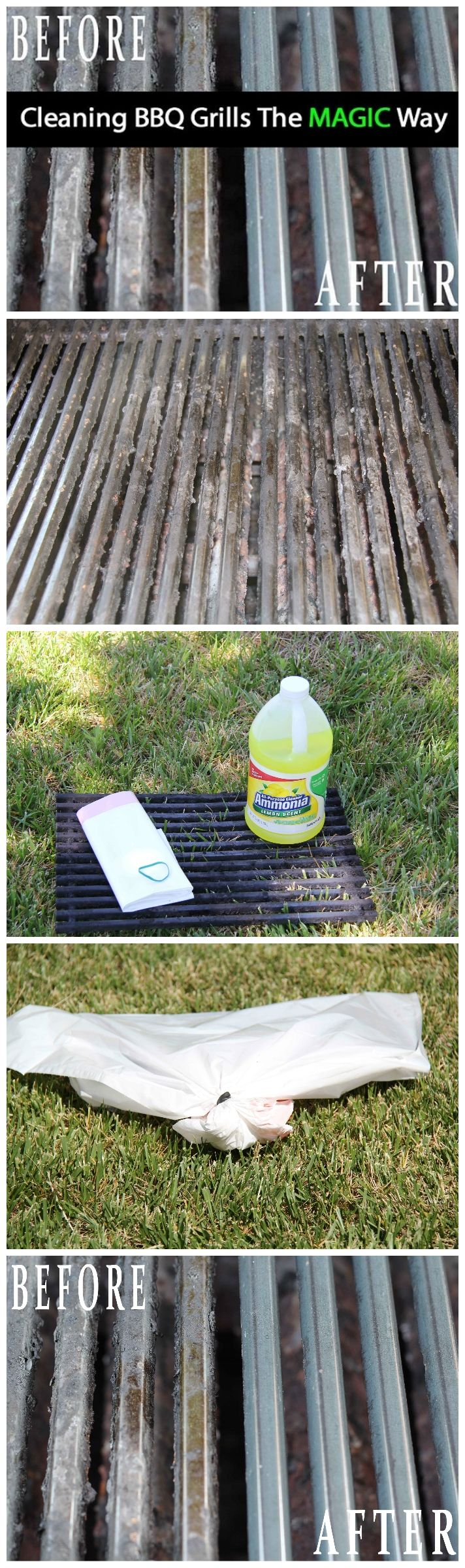 The Magic Way To Clean The BBQ