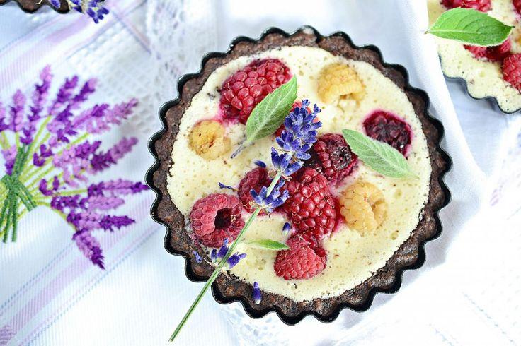 tarteletka z pieczonym jogurtem i owocami1