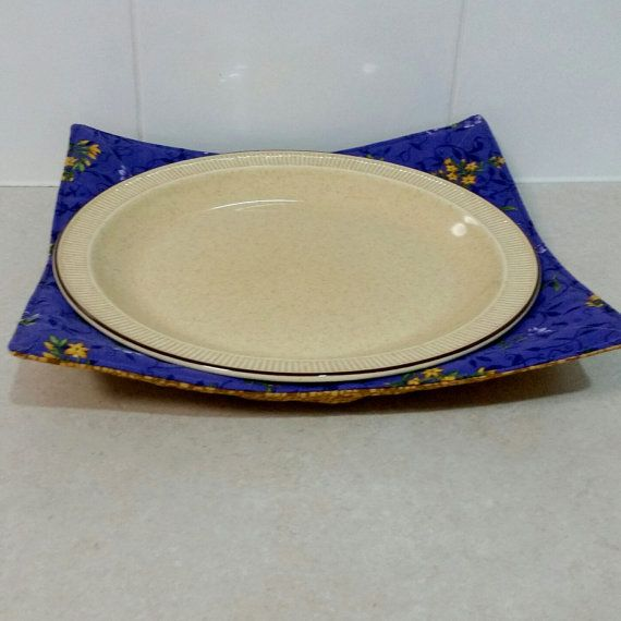 Microwave Plate Holder Reversable in a by Handmadebypauline1 & 18 best Microwave Bowl \u0026 Plate Holders images on Pinterest | Dish ...