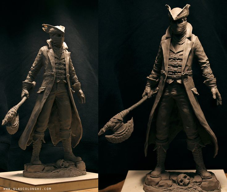 Bloodborne Statue, Glauco Longhi on ArtStation at https ...