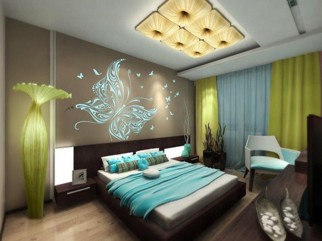 Very Nice This can be a Teen or an Adult Room... Attractive Green Kids Room Designs