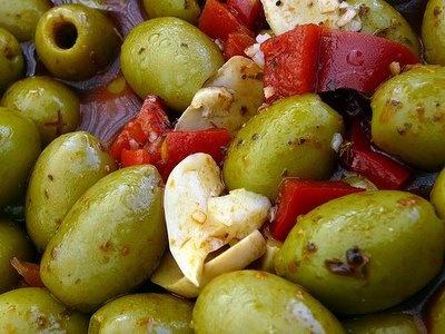 Aceitunas Aliñadas : Asinan buah zaitun  | Spanish Foods