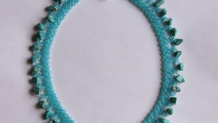 How To Make A Necklace With Turquoise Stones - DIY Style Tutorial - Guid...