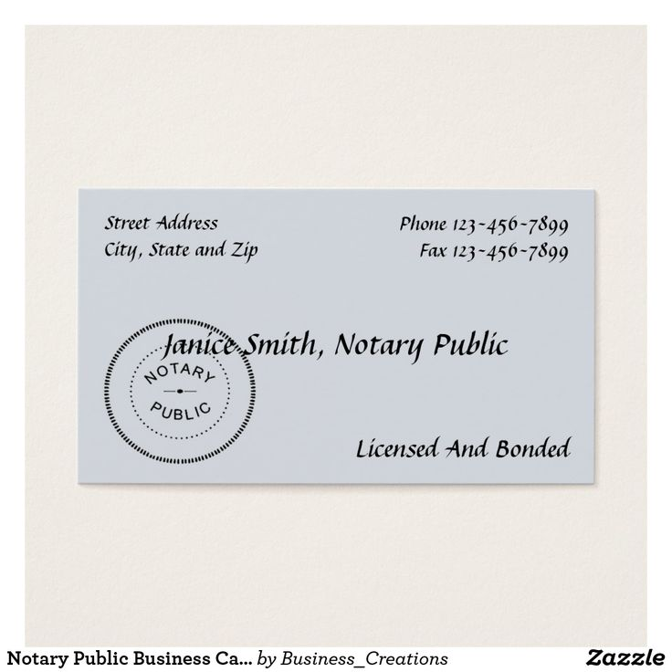 14 best Notary Public and Loan Signing Agent images on Pinterest - notary template