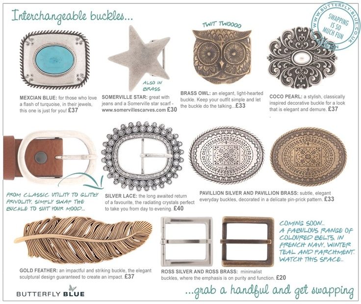 Silver Buckles by Butterfly Blue