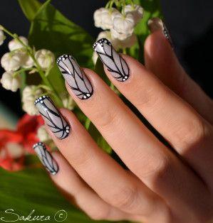 Nail Art « Léger comme un Papillon »