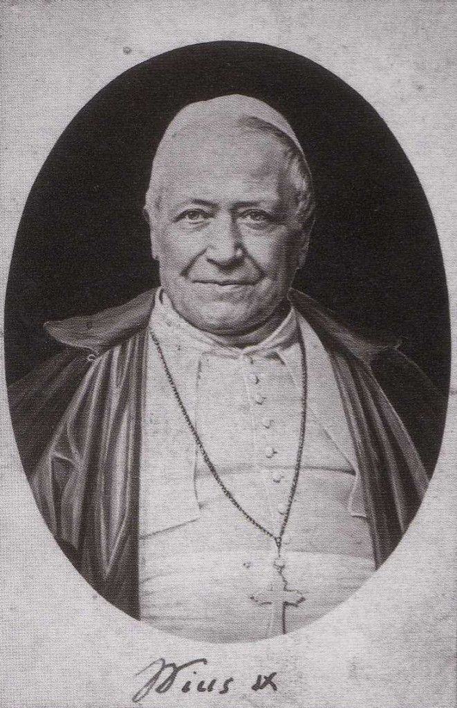 Bl. Pius IX - from a piece about him and the annexation of the Papal States ... http://corjesusacratissimum.org/2014/02/life-pope-pius-ix-annexation-papal-states-dogma-immaculate-conception/