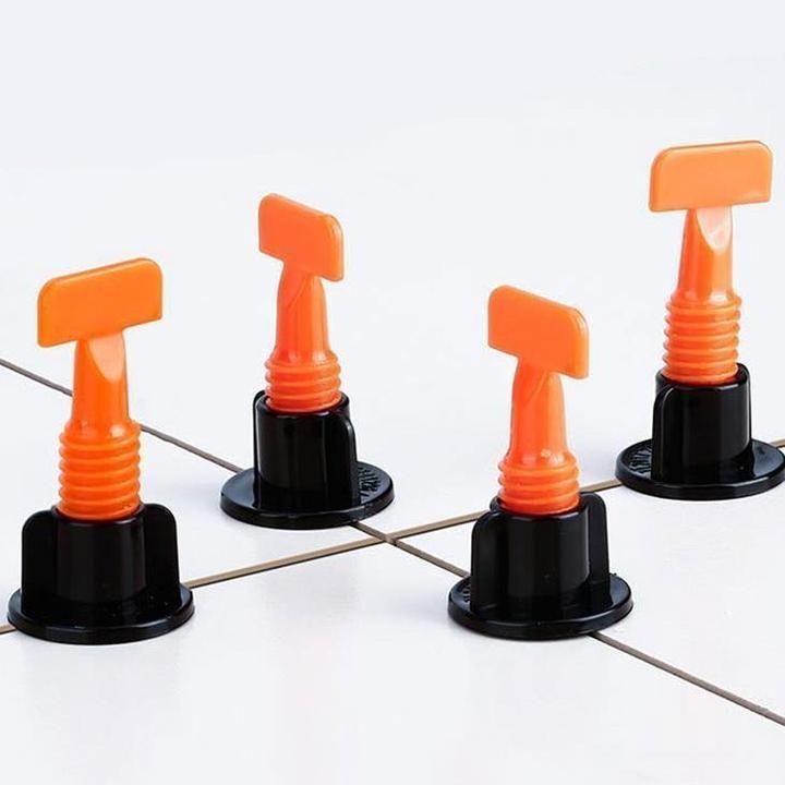 Reusable Anti Lippage Tile Leveling System 50 Pcs Per Pack In 2020 Tile Leveling System Home Repair Tiles
