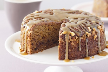 Indulge in rich, feel-good desserts like this banana and date pudding with rich butterscotch sauce.