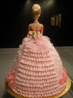 Birthday Cake: Pink Barbie Birthday Cakes