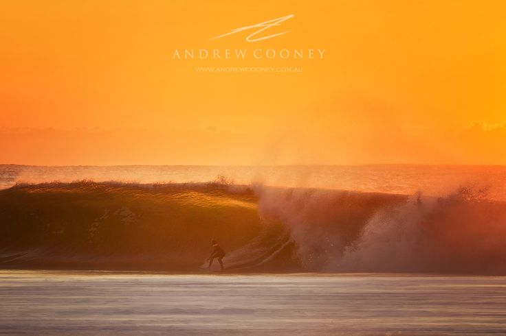 A surfer at Avoca beach in large swell on the NSW Central Coast - Image: Andrew Cooney