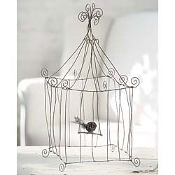 diy decorative wire birdcage