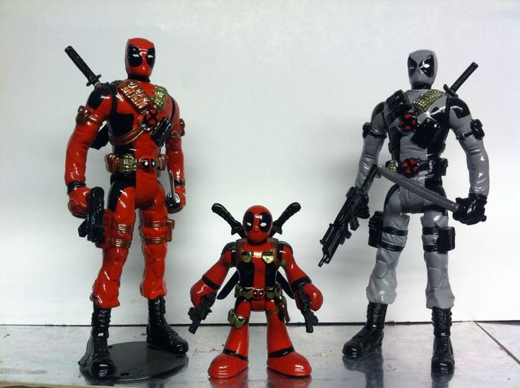 Custom #deadpool figures
