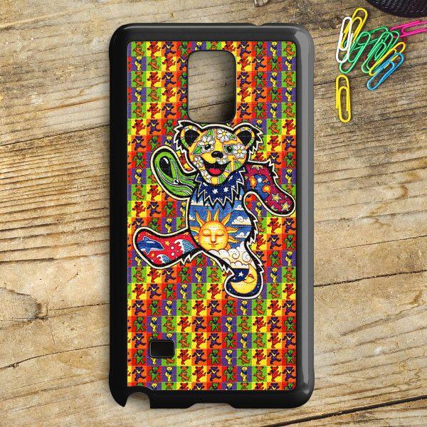 The Grateful Dead Dancing Bear Samsung Galaxy Note 5 Case   armeyla.com