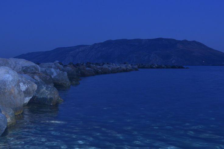 Skyros Island.. full moon