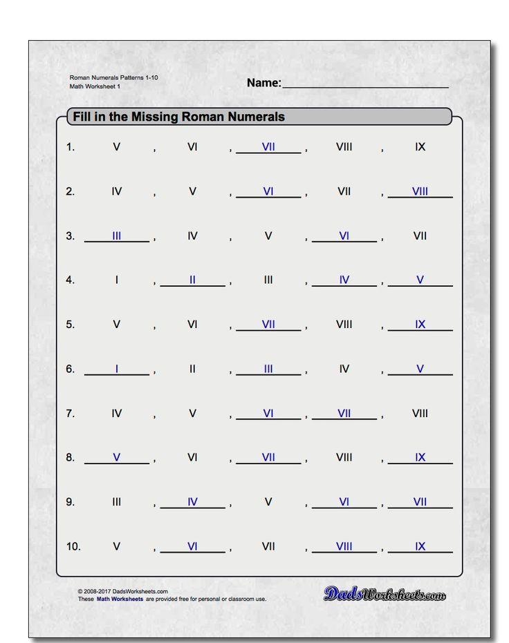 Best 25+ Roman numeral converter ideas on Pinterest Roman - roman numeral chart template
