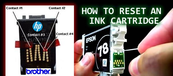 How to Reset an Ink Cartridge & Not Waste Printer Ink