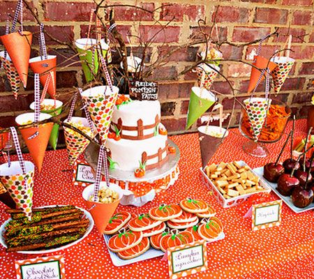 5 inspiring fall birthday parties disney baby - Baby Halloween Birthday Party