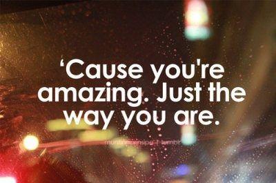 """Just The Way You Are,"" Bruno Mars lyrics"