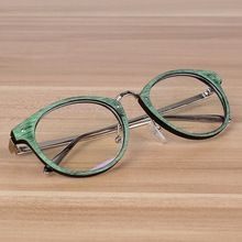 NOSSA Puntos de La Vendimia Gafas Retro Hombres Y mujeres Miopía Monturas de gafas Mujer Hombre Gafas Gafas de Montura de Las Gafas