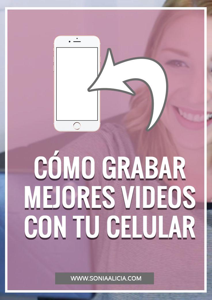 En este video te doy 6 consejos que harán que tus videos grabados con tu celular se vean increíblemente cool en Youtube y/o otras redes sociales.