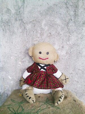 So lovely KUKUN!!   #primitivedoll #dolls #rag #ragdolls #burlap #folkarts #handmade #crafts #DIY