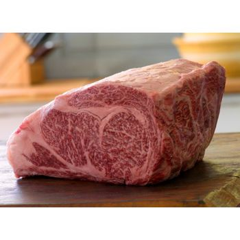 Japanese Wagyu Ribeye A-5 Grade: exceedingly rare Wagyu beef from Japan. More specifically, it is the Kuroge breed of Wagyu and is A-5 grade; literally the top grade of Japanese beef available in the world.