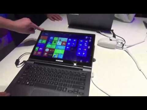 ATIV Book 9 Plus hands-on - YouTube