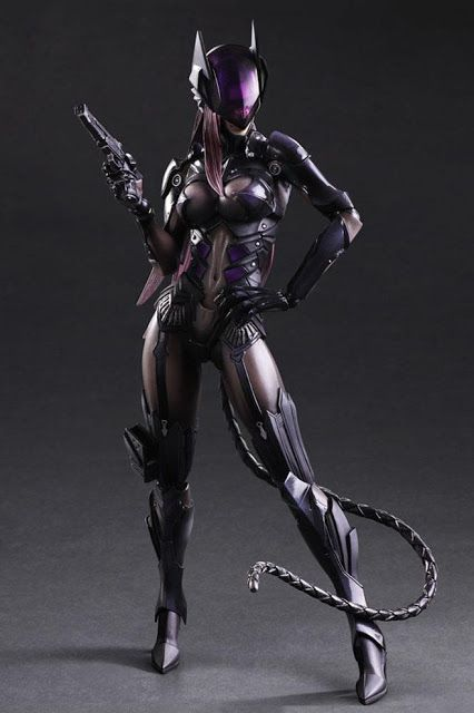 Check out Square Enix Play Arts Kai DC Comics Variant Catwoman 10.5-inch tall action figure