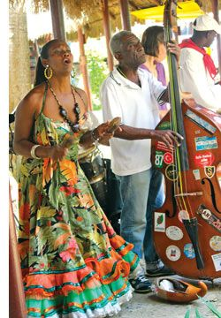 In Cuba, music says it all...