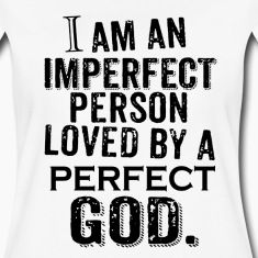 God Love By PERFECT GOD And Christian Jesus Womenu0027s Premium T Shirt   White