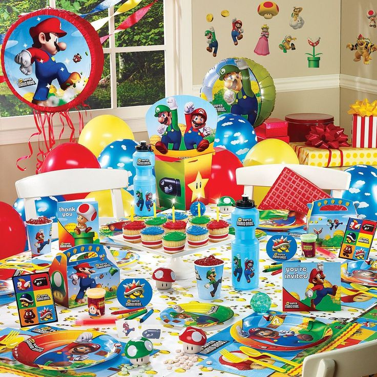 134 best Super Mario Birthday ideas images on Pinterest Birthday