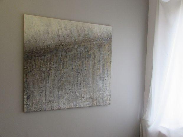 Abstrakcja na płótnie, akryl, obrazy abstrakcyjne by Sylwia Michalska