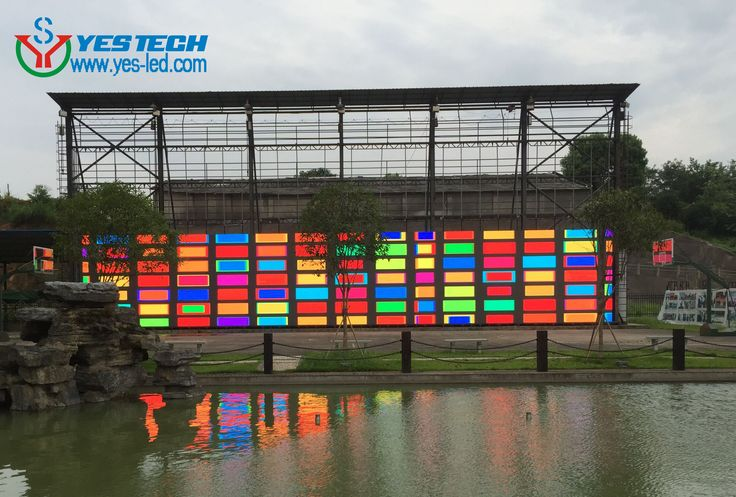 Aging test for 150sqms P5.9 outdoor led display in YESTECH, products details, http://www.yes-led.com/en/products.html?pageIndex=2&proTypeName=Magic+Stage&proTypeID=164392
