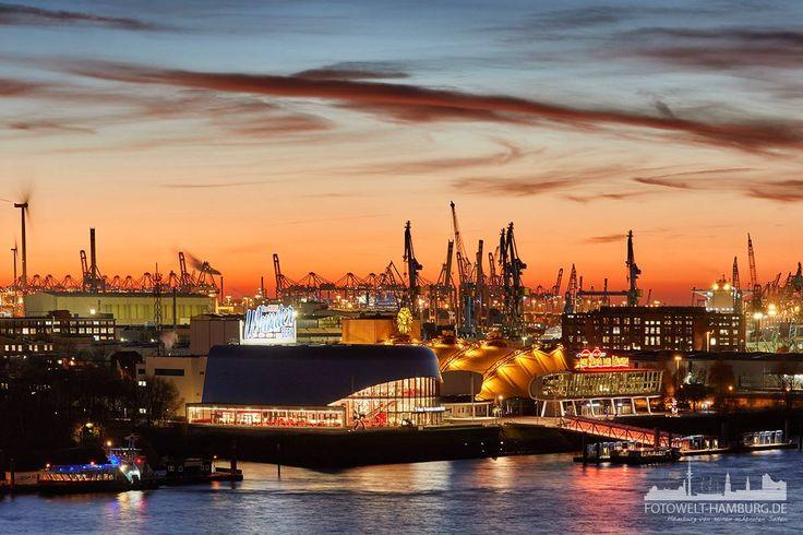 Die Musicaltheater im Hamburger Hafen