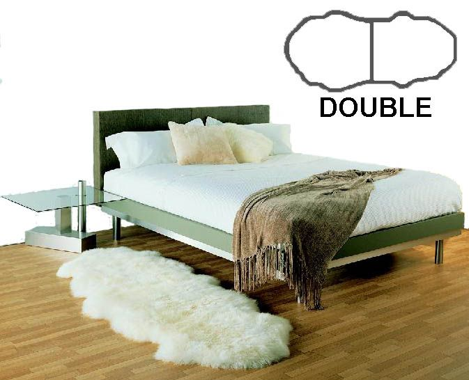 Sheepskin - Double - Bowron Gold Star | Shop New Zealand