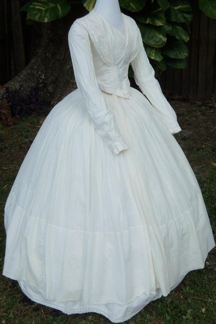 298 best Civil war Dresses images on Pinterest | Historical clothing ...