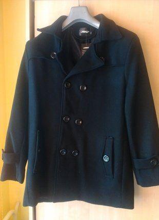 Kupuj mé předměty na #vinted http://www.vinted.cz/muzi/kratke-kabaty/13999260-elegantni-vlneny-pansky-cerny-kabat-k-obleku-podzimzima