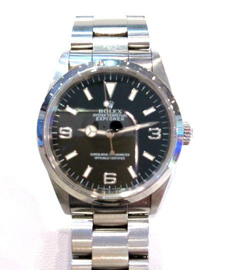 ★AY様/ロレックス - エクスプローラーⅠ ☆仕事も順調!30歳の記念にロレックス!これからも頑張ろう!!と購入した時計。  〝人生の節目に腕時計を〟