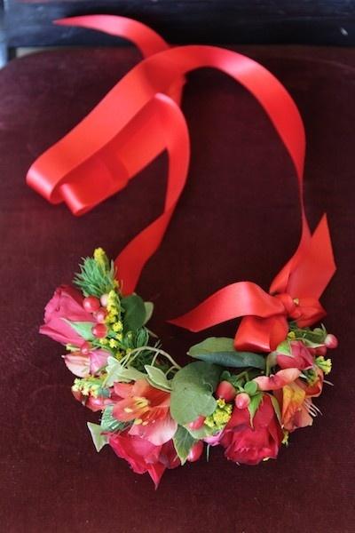Bridesmaid corsage
