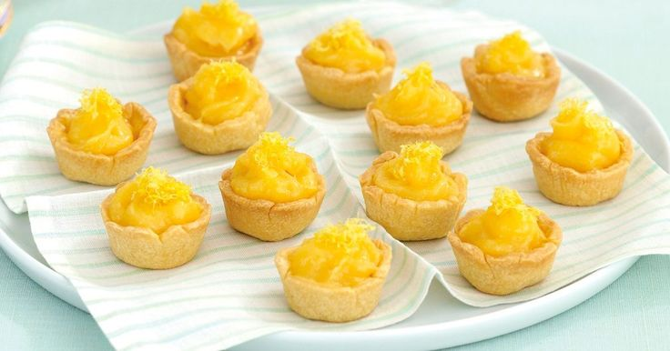Delicious bite-sized lemony goodness perfect for entertaining guests.
