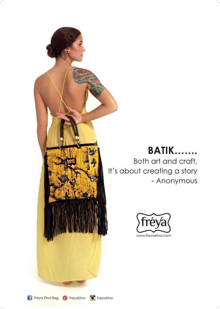Batik .....  Both art and craft, its about creating a story.....  - Anonymous  Batik Bag Etnic Bag Quote  See detail at FB : Freya etno bag