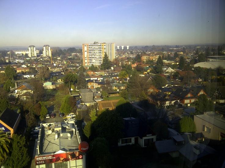 Vista del Hotel Dreams Temuco