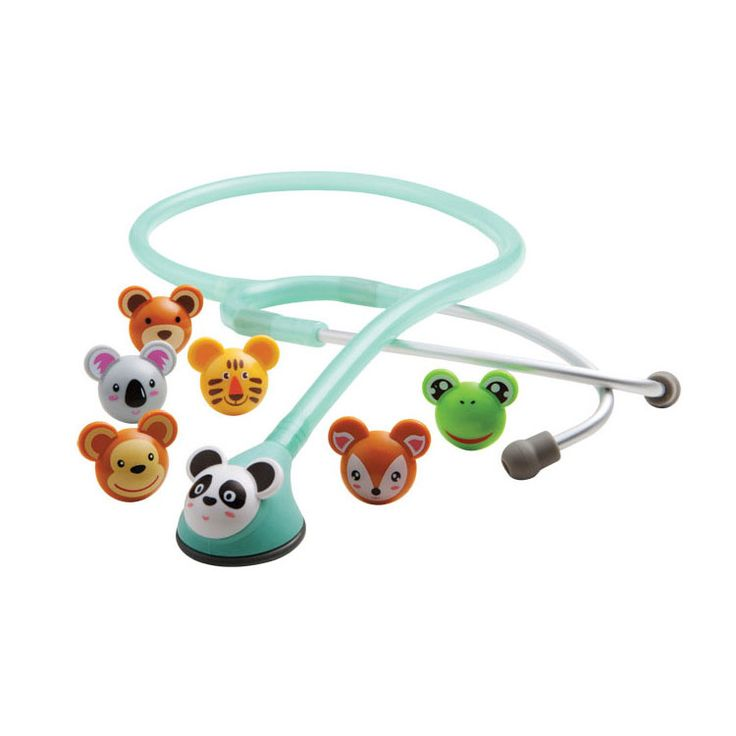 Pediatric Stethoscope with interchangeable animal heads... too cute!!