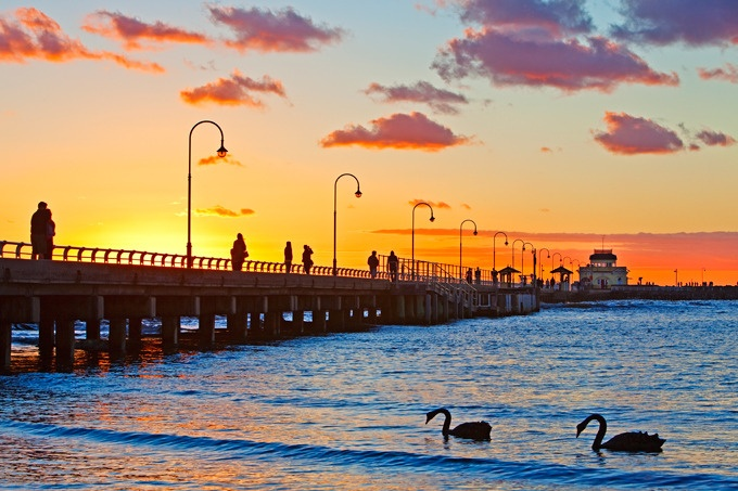 St. Kilda Beach, Melbourne