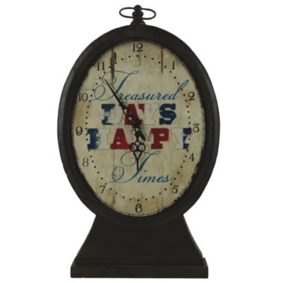 This rustic clock will remind you of treasured days, happy times. #BalticSummer #Clock