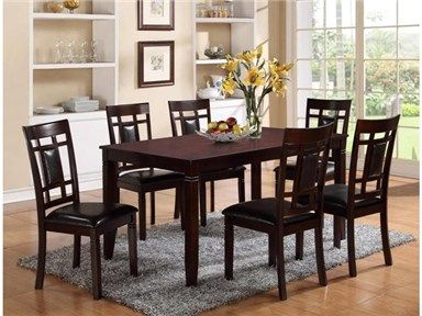 Shop For 1248 Paige 7pc Group Includes Casual Dining Table And Six Chairs Seven