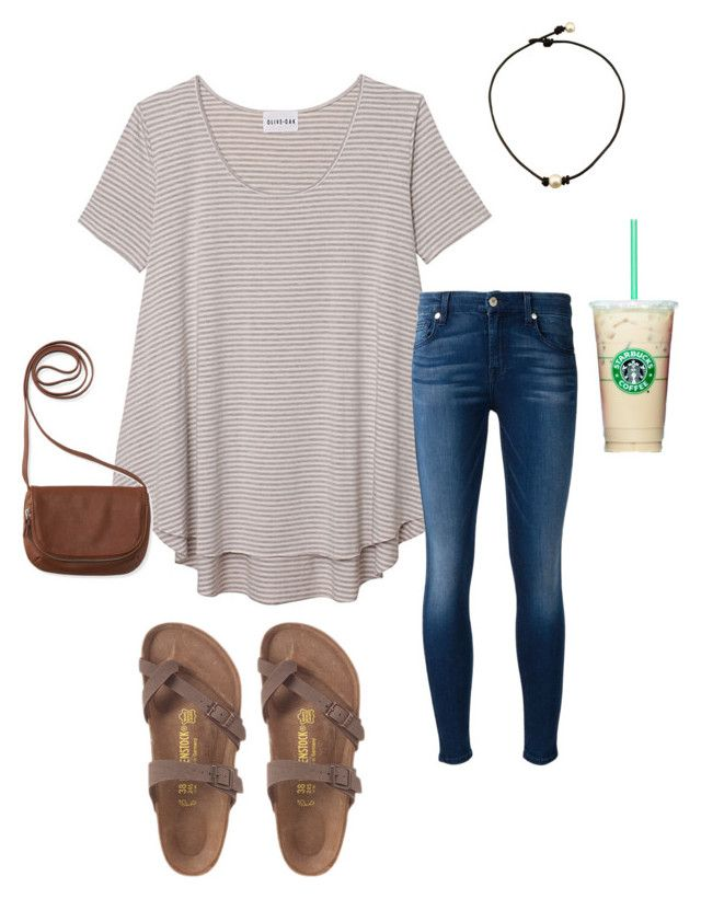"""""""Untitled #73"""" by merewhitmer on Polyvore featuring Olive + Oak, 7 For All Mankind and Aéropostale"""