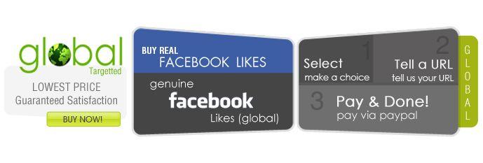 Buy Real Facebook Fans Here: http://buysocialfans.com/facebook-likes-global