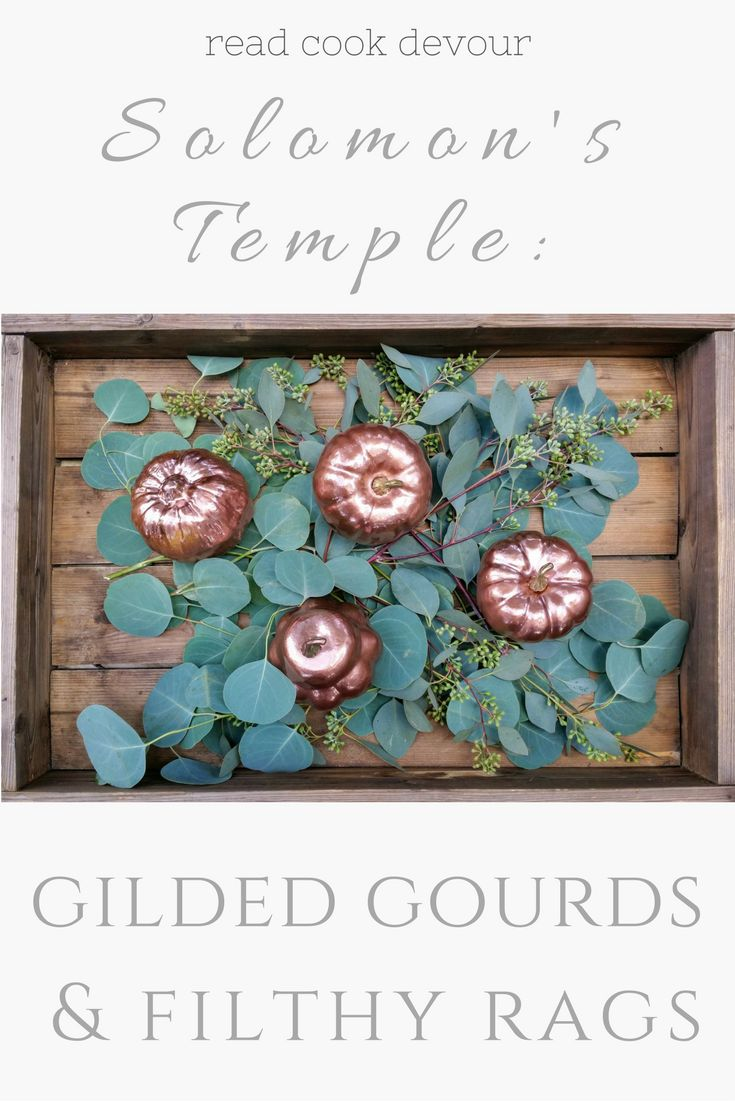 Solomon's Temple: Gilded Gourds & Filthy Rags | 1 Kings